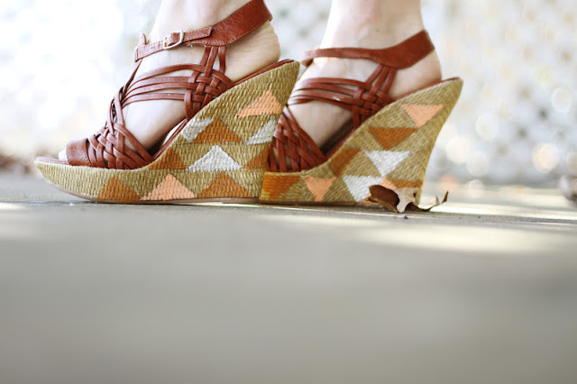 diy geometric wedges