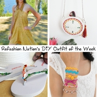 Refashion Nation's 13th #DIY Outfit of the Week