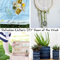 Refashion Nation's 6th #DIY Room of the Week