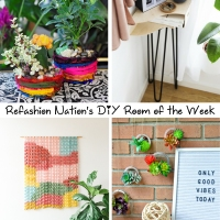 Refashion Nation's 5th #DIY Room of the Week