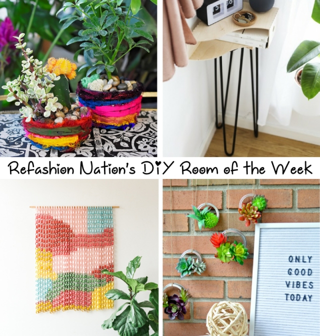 Aug 7 DIY room of the week tutorials