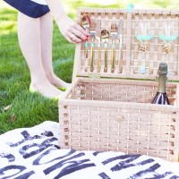 #Upcycled picnic basket