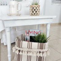 #Upcycled Storage Basket