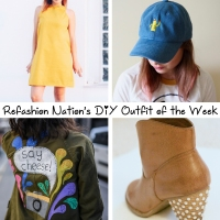 Refashion Nation's 17th #DIY Outfit of the Week