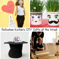 Refashion Nation's 1st #DIY Gifts of the Week