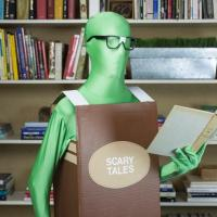 #Upcycled Bookworm Costume