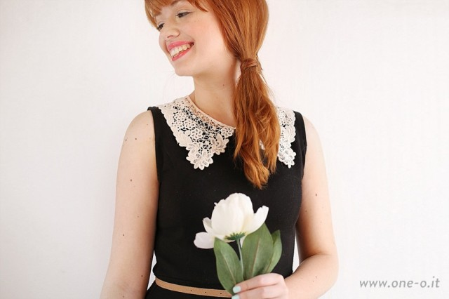 DIY-vintage-dress-with-lace-collar