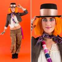 Instant #DIY Mad Hatter Costume