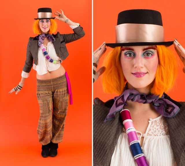 easy diy MadHatter costume