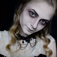 Ghostly Costume & MakeUp #Tutorial