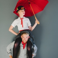 Last Minute Mary Poppins & Bert Costume #Tutorial