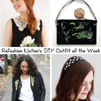 Refashion Nation's 19th #DIY Outfit of the Week