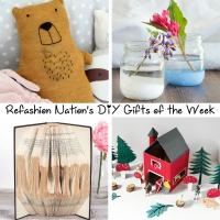 Refashion Nation's 2nd #DIY Gifts of the Week