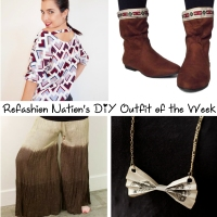 Refashion Nation's 21st #DIY #OOTW