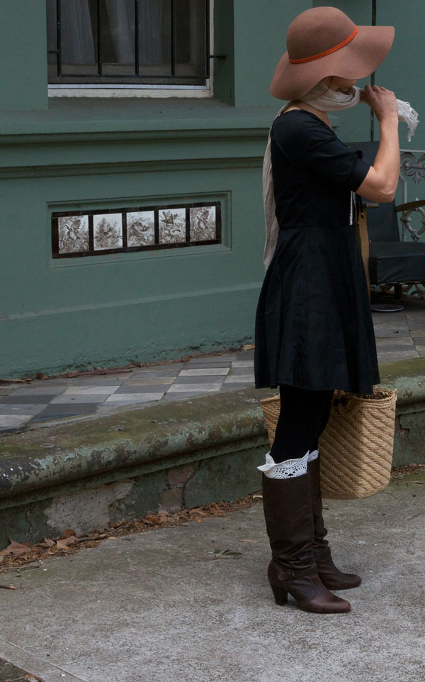 upcycled diy boot-cuffs