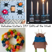 Refashion Nation's 6th #DIYGifts of the Week
