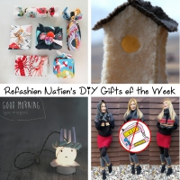 Refashion Nation's 7th #DIY Gifts of the Week