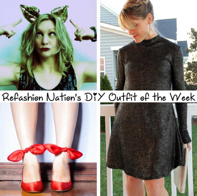Dec 25 DIY outfit of the week
