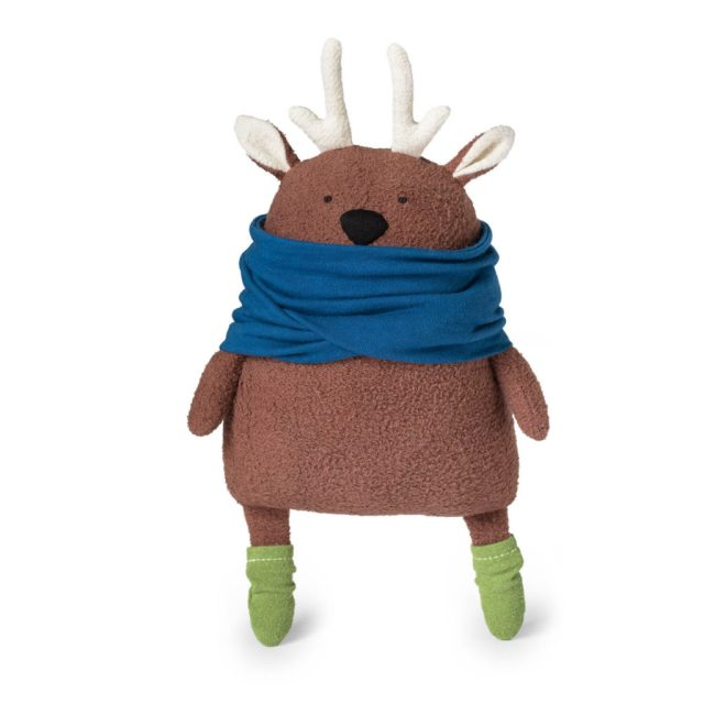 diy deer softie tutorial + pattern