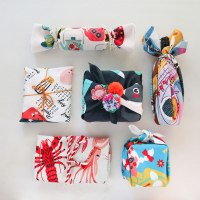 #DIY Fabric Wrapping #Furoshiki