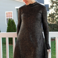 #DIY Swing Dress for #NYE