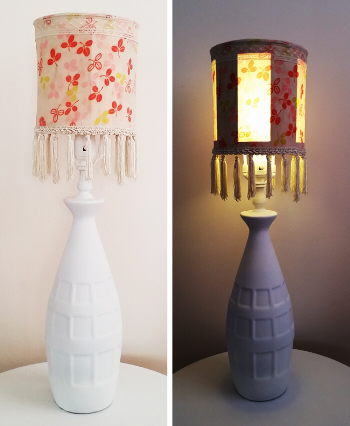 coffee-can-lampshade diy
