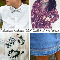 Refashion Nation's 23rd #DIY outfit of the week