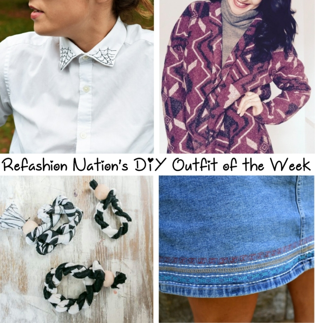 Jan 15 Refashioned outfit of the week tutorials