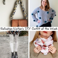 Refashion Nation's 24th #DIY outfit of the week