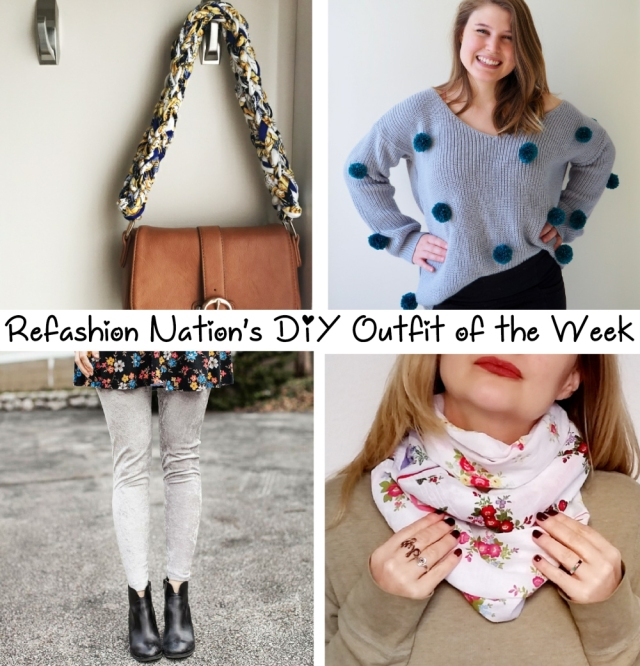 Jan 22 Refashioned outfit of the week tutorials