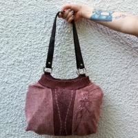 #Repurposed Sweater Bag