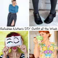 Refashion Nation's 25th #DIY outfit of the week