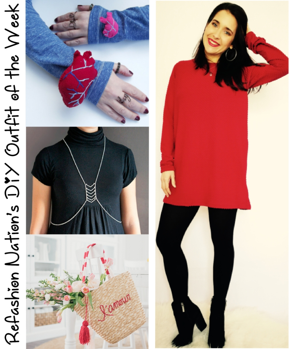 Refashion Nation's 26th #DIY outfit of the week
