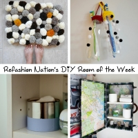 Refashion Nation's 9th #DIY Room of the Week
