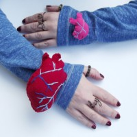 #DIY Heart on Your Sleeve Pin