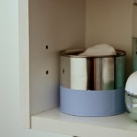 Simple #Upcycled Can Storage