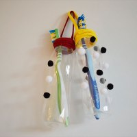 #DIY Toothbrush Holders