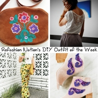 Refashion Nation's 28th #DIY Outfit of the Week