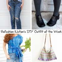 Refashion Nation's 29th #DIY Outfit of the Week