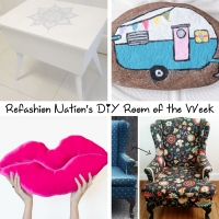 Refashion Nation's 10th #DIY Room of the Week