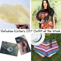 Refashion Nation's 30th #DIY Outfit of the Week