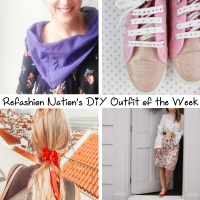 Refashion Nation's 31st #DIY Outfit of the Week