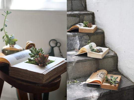 book planter tutorial
