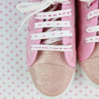 How To #Embroider Shoe Laces