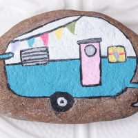 #DIY Painted Rock Decor