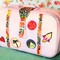 #DIY #Vintage Suitcase Makeover