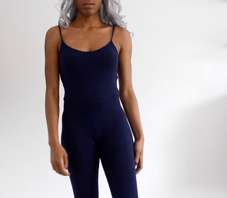 diy bodycon jumpsuit