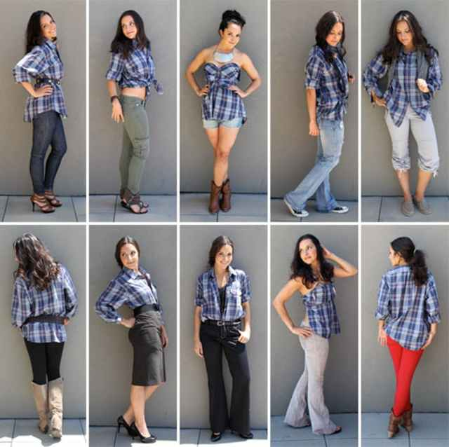 10 ways to style a mens shirt no sew