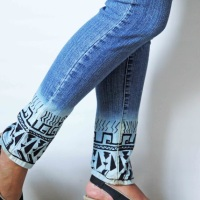 #NoSew Jeans #Refashion