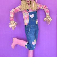 Easy #DIY Scarecrow Costume